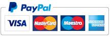 Logo PayPal - cartes bancaires